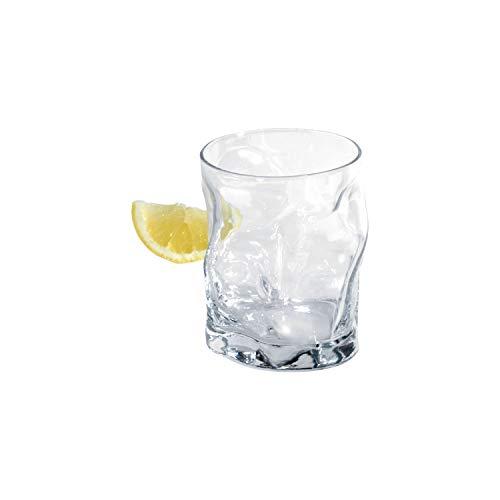 Bormioli Rocco 340350 Sorgente Whiskyglas, 420ml, Glas, transparent, 6 Stück