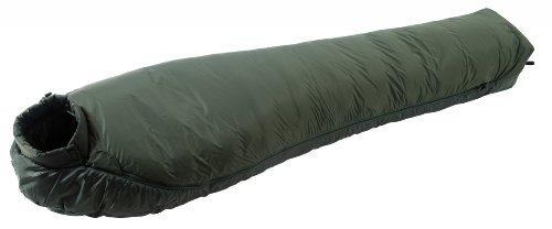 Wilsa sac de couchage sarcophage Grand Nord II (GRNTH2), 230x80x55 cm, robuste, chaud, confortable, performances thermiques exceptionnelles, parfait pour les couchages à l'extérieur en expédition par grand froid, confort optimum -10°