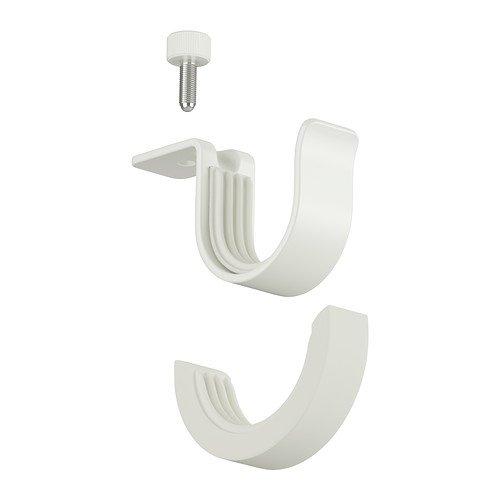 IKEA BETYDLIG - Curtain rod holder, wh