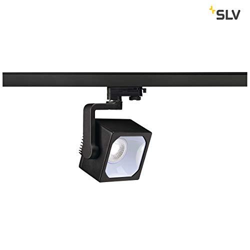 SLV EURO CUBE Indoor-Lampe Aluminium Schwarz Lampe innen, Innen-Lampe