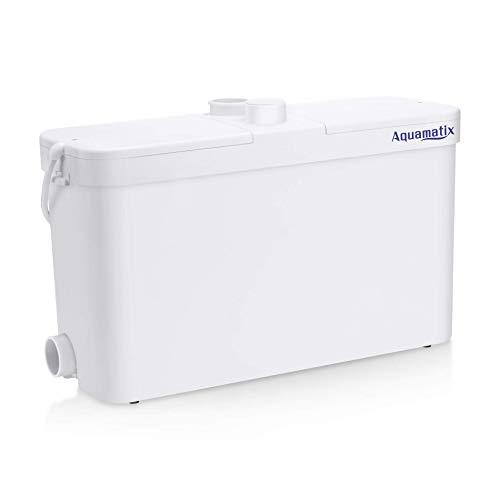 Aquamatix Excellencia 2 - Hebeanlage Abwasserpumpe Haushaltspumpe Mit Edelstahlmotor 500W Leise