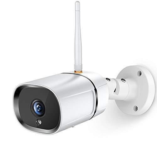 AsFrost Outdoor Security Camera, 1080P WiFi Home Surveillance IP...