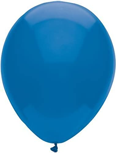 100 Latex Balloons - 11 Inch - Midnight Blau by Mayflower Products