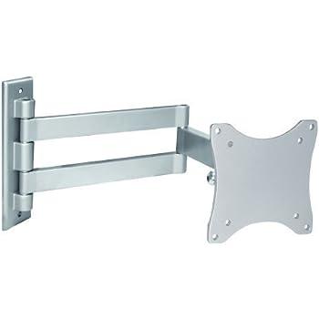 Intecbrackets - Soporte de pared flexible para televisor entre 15 y 23 pulgadas (orientable y giratorio), color plateado: Amazon.es: Electrónica
