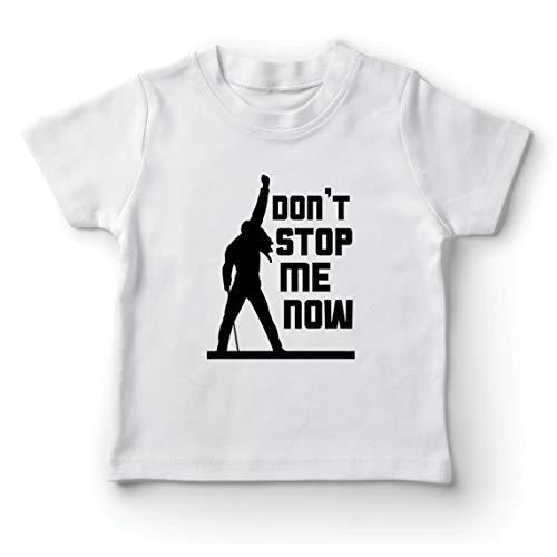 lepni.me Kinder Jungen/Mädchen T-Shirt Don't Stop me Now! Fan Shirts, Musiker Geschenke, Rock Kleidung (14-15 Years Weiß Mehrfarben)