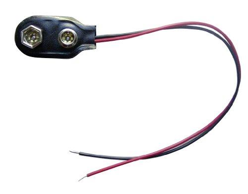 Batterie-Clip für 9 Volt-Batterie oder Batteriehalter