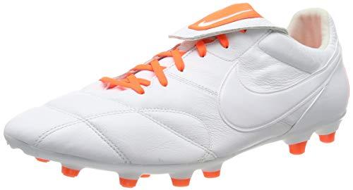 Nike The Premier II FG, Zapatillas de Fútbol Unisex Adulto, Blanco Hyper Crimson/White 181, 41 EU
