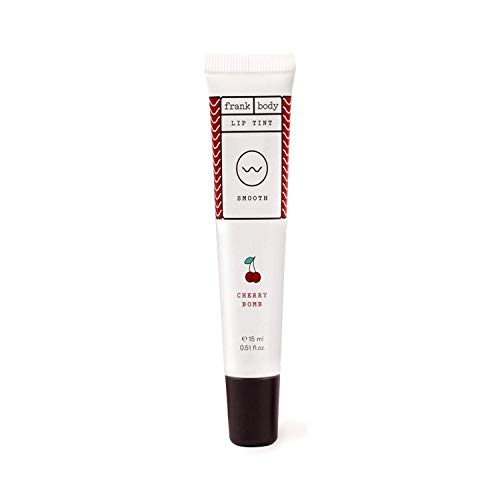 Frank Body Cherry Bomb Lip & Cheek Tint   Cherry Flavored Lip Balm   For Lip Gloss Or Cheek Tint   Natural Moisturizer, Ultra-Hydrating   Made From Coffee Seed & Coconut Oils   15ml -- 0.15oz