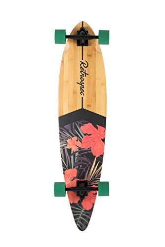 Retrospec Zed Bamboo Longboard Skateboards Cruiser