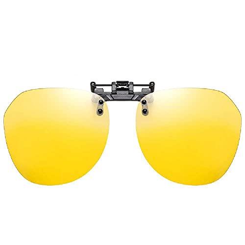 N\C Gafas De Sol, Sencillas, Ultraligeras, De Conducción, Gafas De Sol, con Clip, Gafas De Miopía, Día Y Noche, Gafas Femeninas película de visión Nocturna