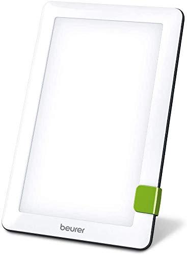Beurer TL 30 Lampe de luminothérapie | 10 000 lux | Simulation de la lumière du jour | Lampe à lumière du jour compacte | avec support et pochette de rangement