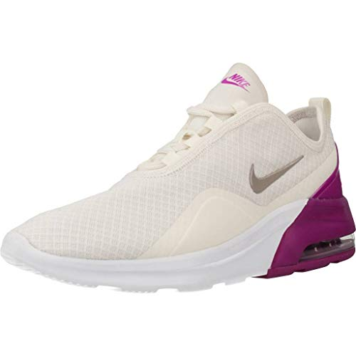 Nike Wmns Air MAX Motion 2, Zapatillas de Running Mujer, Multicolor (Phantom/Pumice-Hyper Violet 6), 42 EU