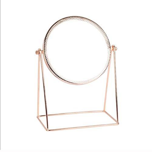 LYN Make-up Spiegel, Prinses Make-up Spiegel vrijstaande glazen spiegel oppervlak professionele mannen vrouw badkamer schoonheid scheren ijdelheid