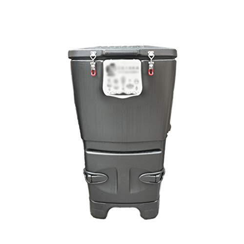 Buy Bargain Xuejuanshop Garbage Container Bins Large Capacity 120L (31.7 Gallon) Vertical Covered Co...