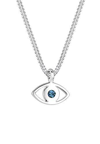 Elli Halskette Evil Eye Swarovski® Kristalle 925 Sterling Silber