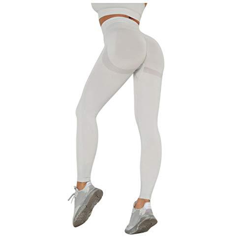 Routinfly Pantalones de yoga para mujer de cintura alta, leggings sexys, push...