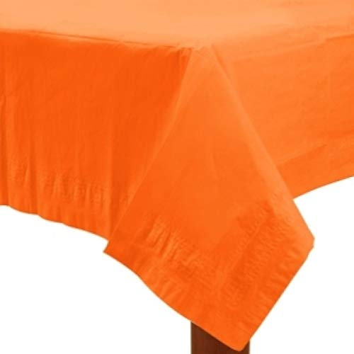 Amscan 1 Nappe Orange Taille : 140x280cm