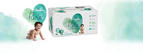 Product Image of the Diapers Size 3, 92 Count - Pampers Pure Protection Disposable Baby Diapers,...