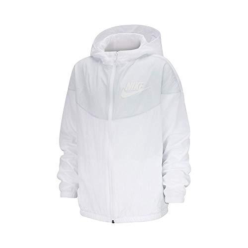 Nike Kinder Sportswear Jacke Weiss M (137-147)