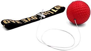 Homeatk Boxing R/éflexe Ball Cardio Les Adultes et Les Enfants Cadeau 3 Diff/érents Fight Boxe Balle Bandeau Ajustable pour Les R/éactions de Vitesse d/'entra/înement Reflex Ballon de Combat Fitness