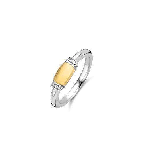 TI SENTO - Milano 925 Sterling Zilveren Ring 12193ZY/54 (Maat: 54)