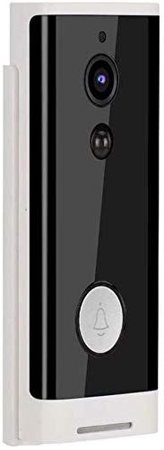 Yppss Wireless Smart Video Türklingel Wifi Kamera Türklingel mit Zwei-Wege-Audio-Anruf für Home Security PIR-Bewegungserkennung und 1080 HD Nachtsicht für iOS, Android, Google Eternal