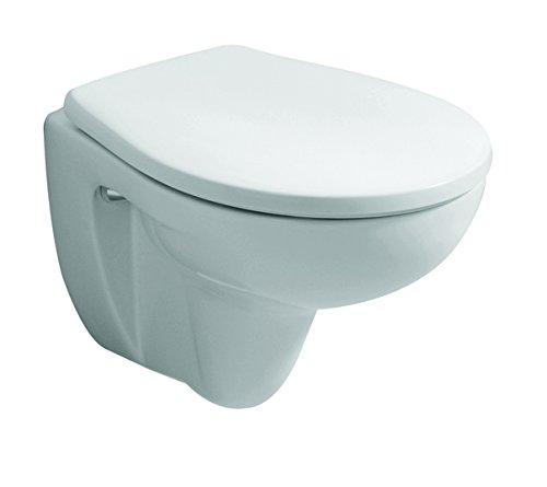 Keramag WC-Sitz Renova Nr. 1 Comprimo, Edelstahlscharniere Pergamon, 571044068