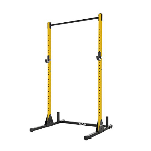 CAP Barbell Power Rack Exercise Stand, Yellow