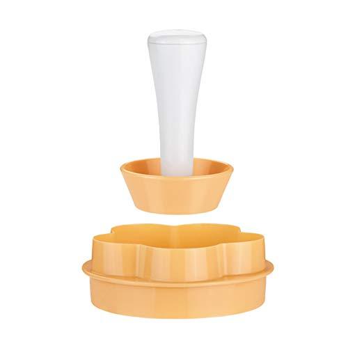 Plastic Gebak Tamper Tart Shell Mallen Tart Cutter Bloem/Ronde Deeg Cookie Cutter Set Cupcake Mold voor Muffin/Cupcake