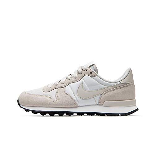 Nike Damen WMNS Internationalist Laufschuhe, Phantom/Light Bone/Summit White/Black, 37.5 EU