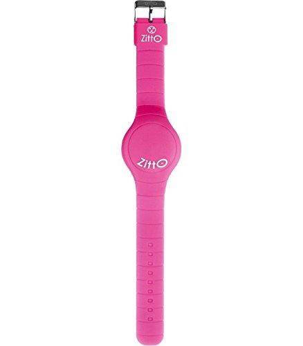 Orologio ZITTO a led con cinturino in silicone Miss pink Rosa Piccolo