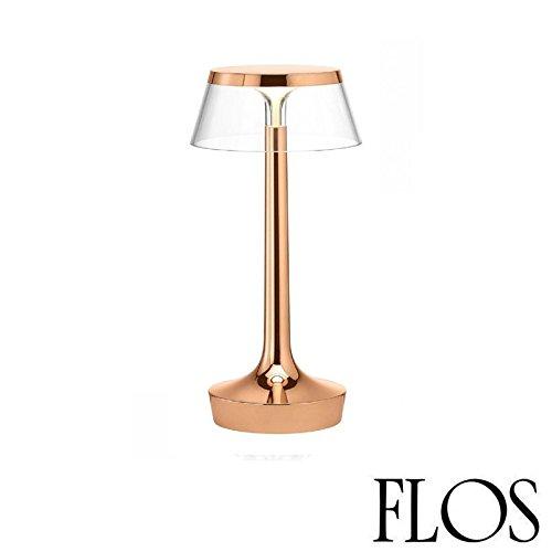 Flos Bon Jour Unplugged LED Tischleuchte Kupfer transparent F1037015