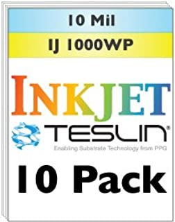 Inkjet Teslin Synthetic Paper - 10 Sheets