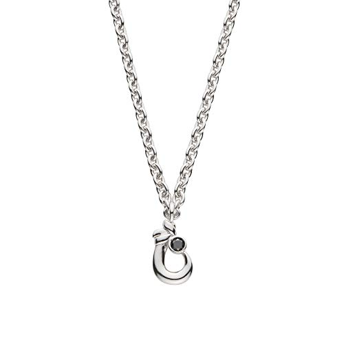[VAヴァンドーム青山] VA VENDOME AOYAMA SV925 ブラックダイヤモンド0.04ct Happy-hook ペアネックレス GS6N024150DZ