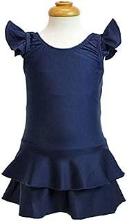 スクール水着(フリルスカート付き) キッズ 女の子 ワンピース