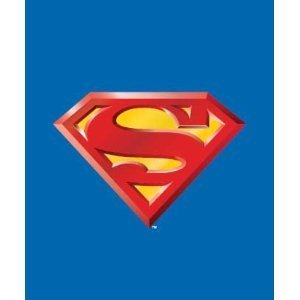 JPI Superman Emblem Super Soft Fleece Throw Blanket 50x60 Inches - DC...