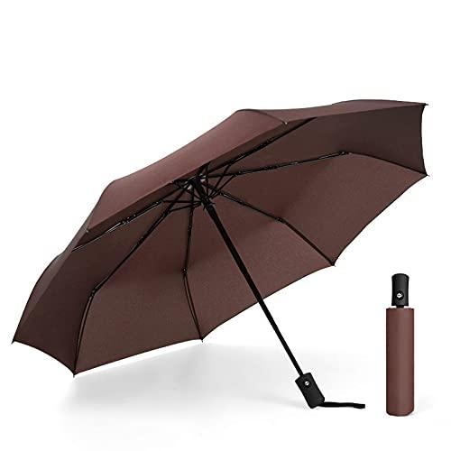 Umbrella Paraguas resistente al viento, compacto, pequeño y estable, paraguas plegable y portátil, bolsa de regalo