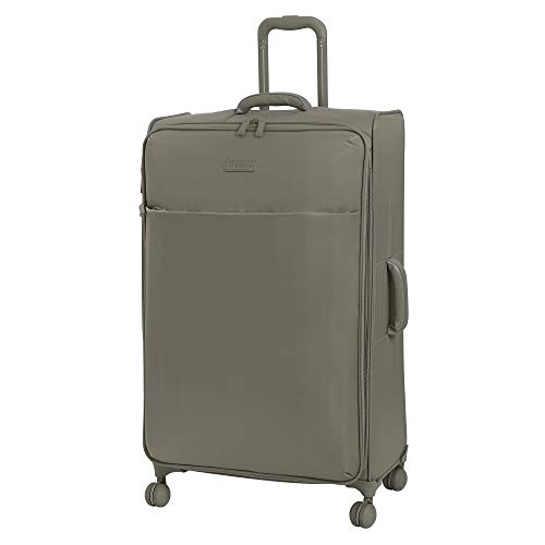 it luggage Lustrous Lightweight Expandable Spinner Wheels, Cobblestone, Checked-X-Large 32-Inch