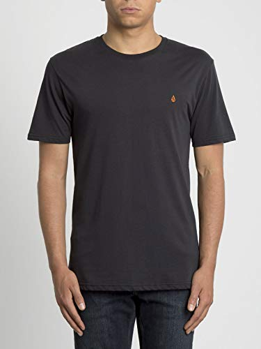 Volcom Stone Blank BSC Ss Herren-T-Shirt M Schwarz