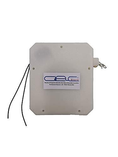 Glac Store Sensore a Tapparelle per Tapparella Contatto a Filo con Cordino Fune in Nylon Universale per tutti gli Allarme Antifurto