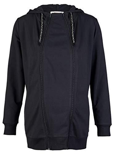 ESPRIT Maternity Damen Sweatshirt ls 3-Way Kapuzenpullover, Gunmetal-15, XL