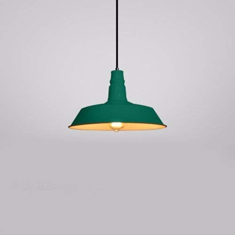 FuweiEncore Kronleuchter Pendelleuchte Restaurant Bar Lamp Pot Abdeckung Industrial Coffee Shop 26Cm Grün