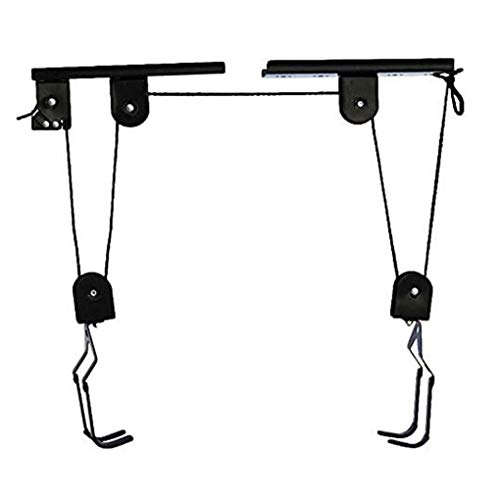 RUIXFRU Heavy Duty Mountain Bicycle Hanging Rack,Bike Hoist Bicycle Lift for Garage Ceiling Storage