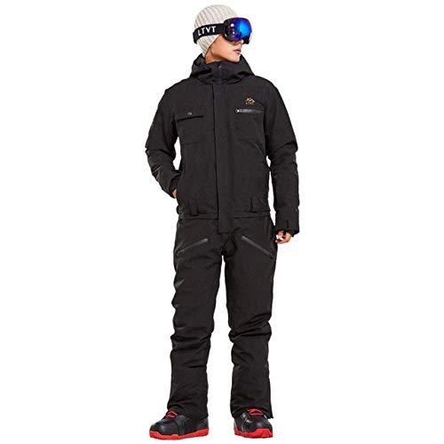 2019 Nieuwe Winter Ski Suit Mannen Een Stuk Sneeuw Jumpsuit Mountain Skiën Waterdichte Dikke Warm Snowboard Jassen Snowboarden Broek