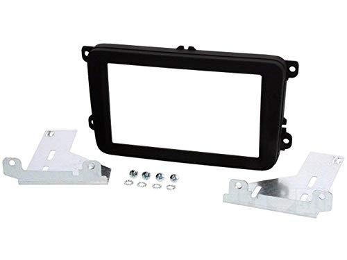 ADNAuto 61634 Facade Autoradio 2Din Caddy T6 Trans Ap15/ Ap15-Noir Brillant
