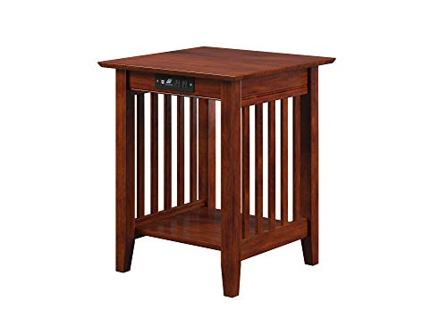 Atlantic-Furniture-Mission-Printer-Stand-with-Charging-Station-Walnut