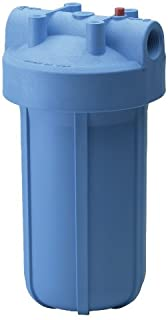 Culligan HD-950A Whole-House Heavy Duty Inlet/Outlet Water Filtration System, Blue