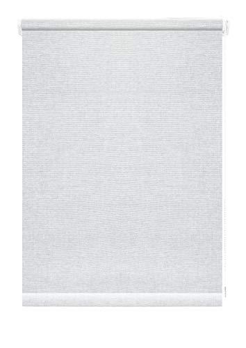 GARDINIA Rollo zum Klemmen oder Kleben, Tageslicht-Rollo, Blickdicht, Alle Montage-Teile inklusive, EASYFIX Rollo Faro, Weiß, 100 x 150 cm (BxH)