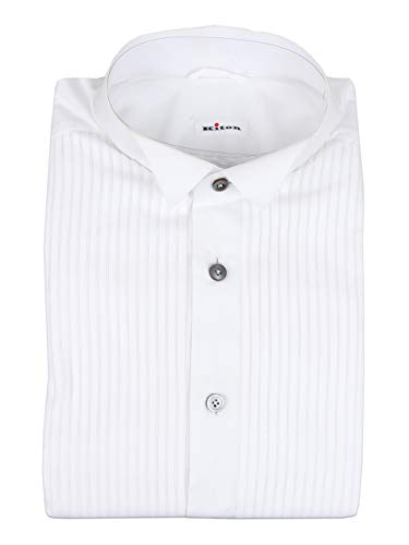 Kiton Napoli Men Formal Shirt Size 16