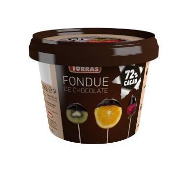 FONDUE CHOCOLATE 72% CACAO S/G